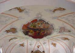 Deckenmalerei St. Vitus-Kirche